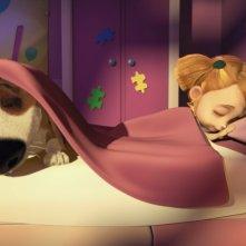 Ozzy - Cucciolo coraggioso: un dolce momento del film d'animazione
