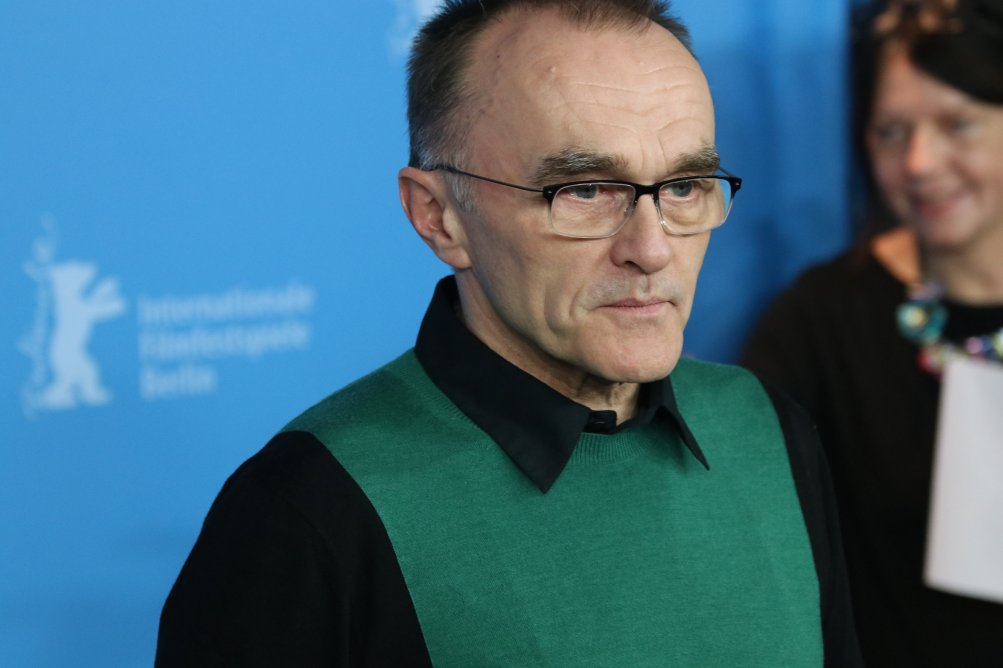 Berlino 2017: Uno scatto di Danny Boyle al photocall di T2 Trainspotting