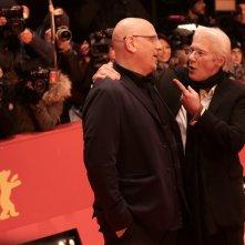 Berlino 2017: Oren Moverman e Richard Gere sul red carpet di The Dinner