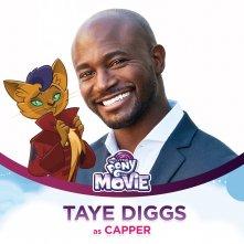 My Little Pony: la presentazione del personaggio di Taye Diggs