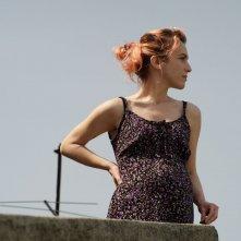 Il padre d'Italia: Isabella Ragonese in una scena del film