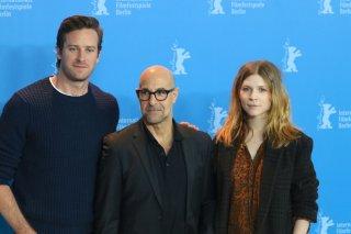 Berlino 2017: Stanley Tucci, Clémence Poésy e Armie Hammer al photocall di Final Portrait