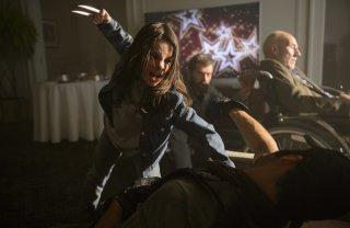 Logan: Dafne Keen in una foto del film