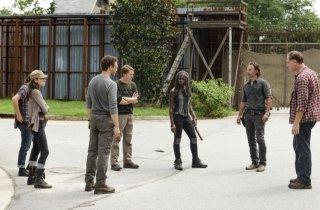 The Walking Dead: una sequenza dell'episodio Ci vuole coraggio