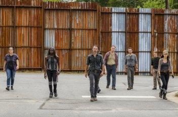 The Walking Dead: una scena dell'episodio Ci vuole coraggio