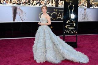 Amy Adams alla cerimonia degli Oscar del 2013