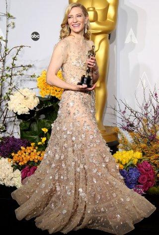 Cate Blanchett alla cerimonia degli Oscar del 2014