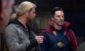 Doctor Strange: l'incontro con Thor mostrato in una nuova featurette