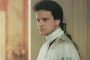 Valmont: Colin Firth in una scena del film