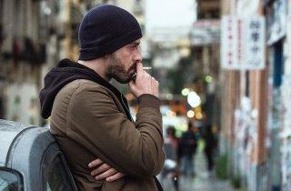 Falchi: Michele Riondino in una scena del film