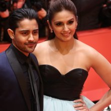 Berlino 2017: Huma Qureshi e Manish Dayalsul red carpet di Viceroy's House