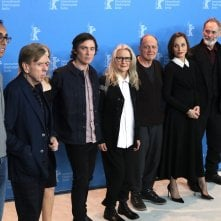 Berlino 2017: Sally Potter, Timothy Spall, Cillian Murphy, Patricia Clarkson e Kristin Scott Thomas al photocall di The Party