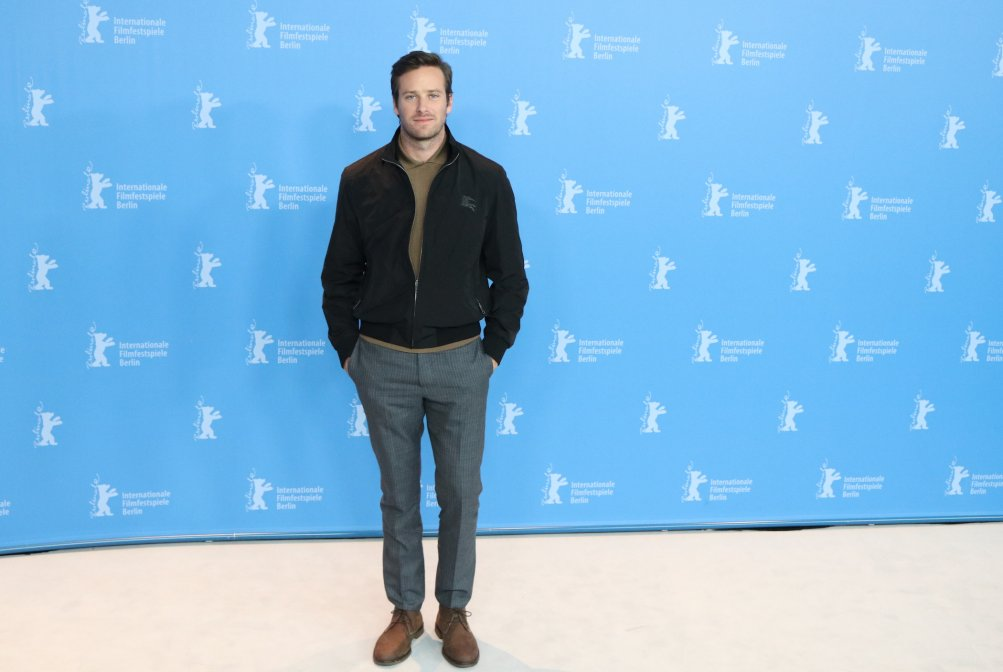 Berlino 2017: Armie Hammer al photocall di Call Me by Your Name