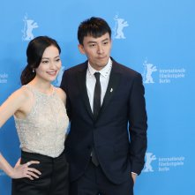 Berlino 2017: YAO Yiti e CHANG Chen al photocall di Mr. Long
