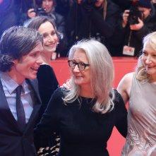 Berlino 2017: Patricia Clarkson, Cillian Murphy e Sally Potter sul red carpet di The party