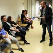 Mamma o papà?: Antonio Albanese, Alvise Marascalchi, Luca Marino e Marianna Cogo in una scena del film