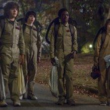 Stranger Things: una foto dei protagonisti della serie