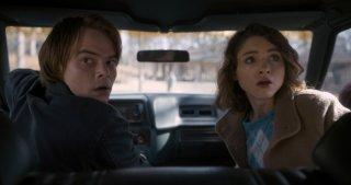 Stranger Things: una foto di Nancy e Jonathan