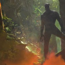 Black Panther: un concept art dell'eroe Marvel