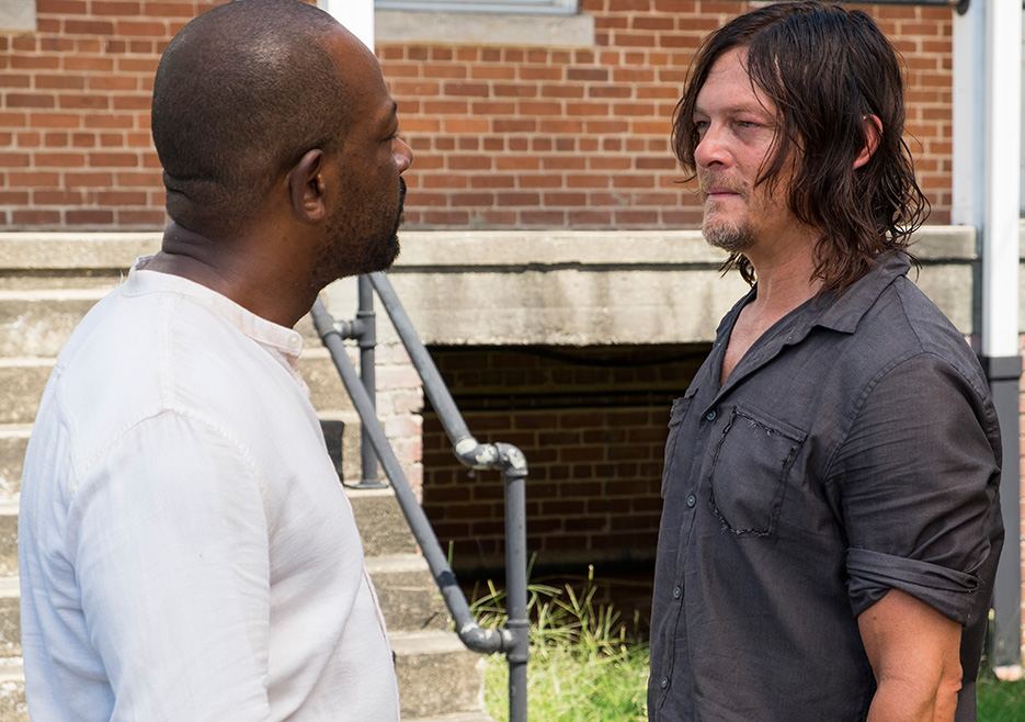 The Walking Dead: Lennie James e Norman Reedus in New Best Friends