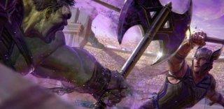Thor: Ragnarok - Un concept art del film