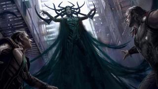 Thor: Ragnarok - Un concept art del film Marvel