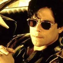 Traffic: Benicio Del Toro in un momento del film