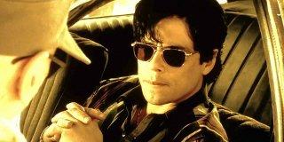 Traffic: Benicio Del Toro in un momento del film