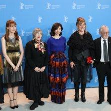 Berlino 2017: Aisling Walshe, Sally Hawkins e i produttori al photocall di Maudie