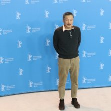 Berlino 2017: Hong Sangsoo al photocall di On the Beach at Night Alone