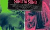 Song to Song: il poster del film diretto da Terrence Malick