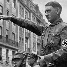 Adolf Hitler durante un evento pubblico