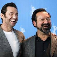 Logan: Hugh Jackman e il regista James Mangold a Berlino