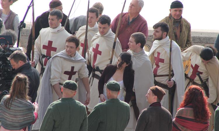 Robin Hood: una foto dal set di Dubrovnik