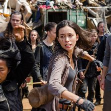 The Walking Dead: Christian Serratos e Ross Marquand in New Best Friends