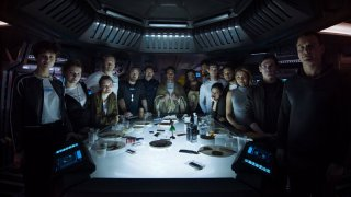 Alien: Covenant - Una foto del cast