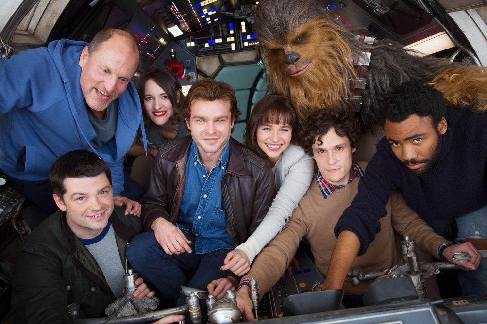 Han Solo: il cast e i registi del film nella prima foto