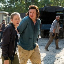 The Walking Dead: Josh McDermitt in una foto di Hostiles and Calamities