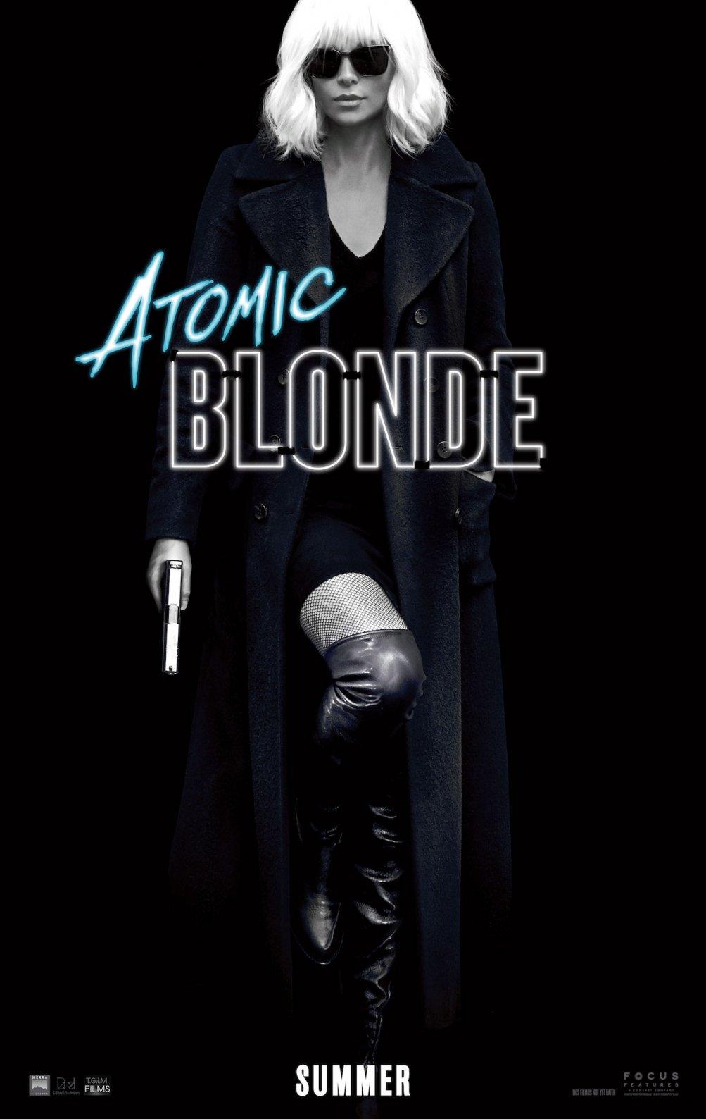 Atomic Blonde: il poster del film con Charlize Theron