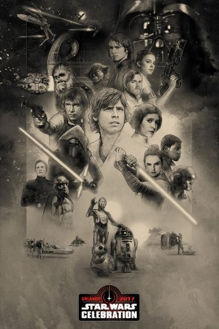 Star Wars Celebration 2017: un nuovo poster dell'evento