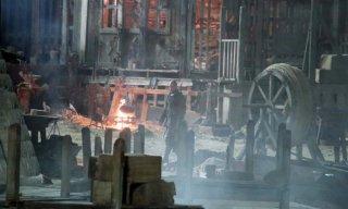 Robin Hood: Origins, un'immagine delle riprese