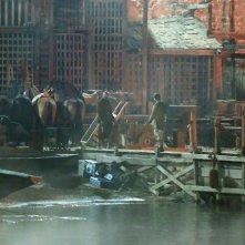 Robin Hood: Origins, una foto dal set di Dubrovnik