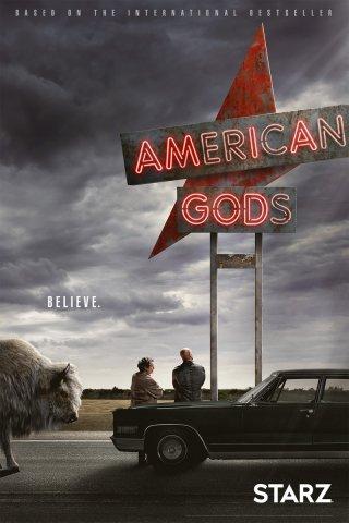 American Gods: il poster della serie