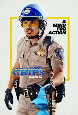 CHIPS: il character poster di Michael Peña