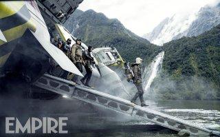 Alien: Covenant - I protagonisti arrivano su un nuovo pianeta