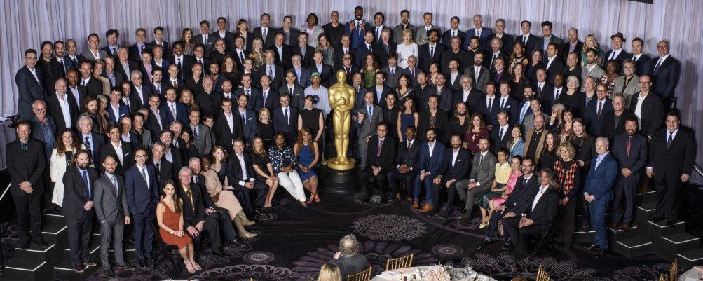 Oscar 2017: la foto di gruppo dei candidati