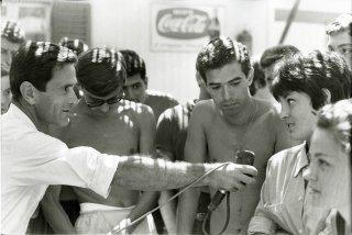 Comizi d'amore: Pier Paolo Pasolini in un'immagine del suo lavoro