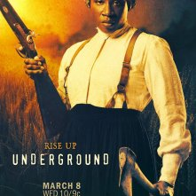 Underground: un character poster per Aisha Hinds
