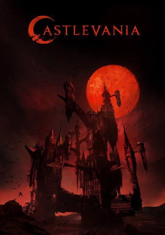 Castlevania: un poster della serie Netflix