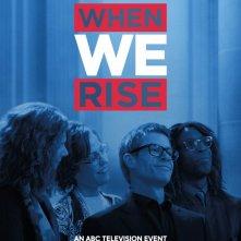 When We Rise: il poster della serie